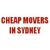 Cheap Movers In Syndey - Furniture Removalists & House Moving