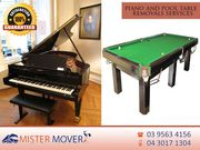 Piano and Pool Table Movers | Mister Mover Melbourne